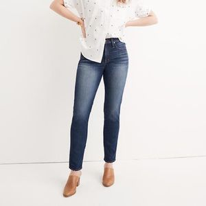 Madewell Slim Straight Jeans in William Wa…